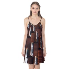 Abstract Architecture Building Business Camis Nightgown