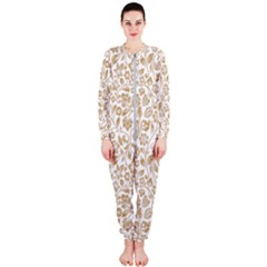 Vector Classical Pattern Onepiece Jumpsuit (ladies)  by Sudhe