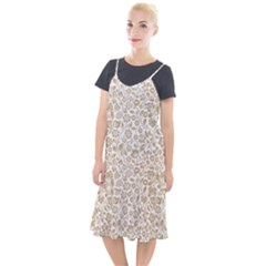 Vector Classical Pattern Camis Fishtail Dress by Sudhe