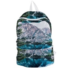 Daylight Forest Glossy Lake Foldable Lightweight Backpack