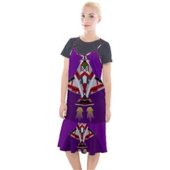 Toy Plane Outer Space Launching Camis Fishtail Dress