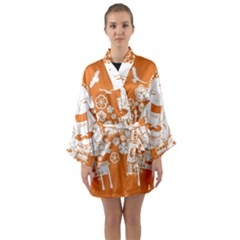 Taiwan Changhua Wikiproject Long Sleeve Kimono Robe
