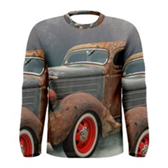 Auto Old Car Automotive Retro Men s Long Sleeve Tee