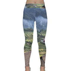 Rock Scenery The H Mong People Home Classic Yoga Leggings by Sudhe