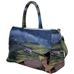 Rock Scenery The H Mong People Home Duffel Travel Bag