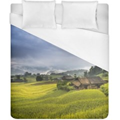 Vietnam Terraces Rice Silk Duvet Cover (california King Size)