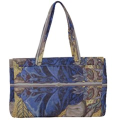Mosaic Painting Glass Decoration Canvas Work Bag