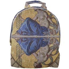 Mosaic Painting Glass Decoration Mini Full Print Backpack