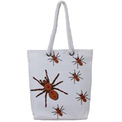 Nature Insect Natural Wildlife Full Print Rope Handle Tote (small)