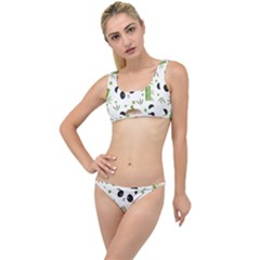 Giant Panda Bear Bamboo Icon Green Bamboo The Little Details Bikini Set
