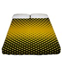 Dot Halftone Pattern Vector Fitted Sheet (Queen Size) View1