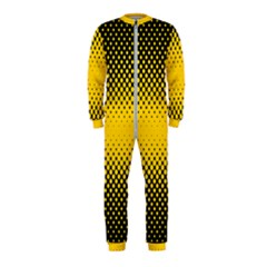 Dot Halftone Pattern Vector Onepiece Jumpsuit (kids)