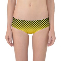 Dot Halftone Pattern Vector Classic Bikini Bottoms by Mariart