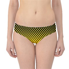 Dot Halftone Pattern Vector Hipster Bikini Bottoms