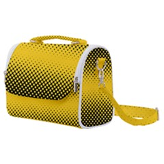 Dot Halftone Pattern Vector Satchel Shoulder Bag