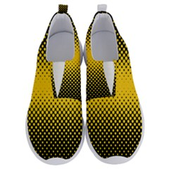 Dot Halftone Pattern Vector No Lace Lightweight Shoes