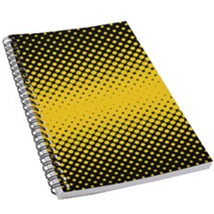Dot Halftone Pattern Vector 5 5  X 8 5  Notebook by Mariart