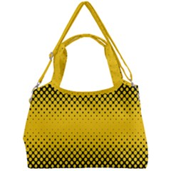 Dot Halftone Pattern Vector Double Compartment Shoulder Bag