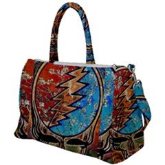 Grateful Dead Rock Band Duffel Travel Bag by Sudhe
