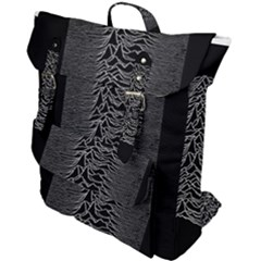 Grayscale Joy Division Graph Unknown Pleasures Buckle Up Backpack