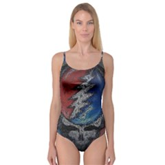 Grateful Dead Logo Camisole Leotard  by Sudhe