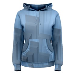 City Contemporary Modern Futuristic Women s Pullover Hoodie