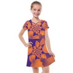 Digital Art Art Artwork Abstract Kids  Cross Web Dress