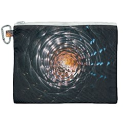 Abstract Fractal Pattern Galaxy Canvas Cosmetic Bag (xxl)