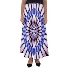 Digital Art Art Artwork Abstract Flared Maxi Skirt