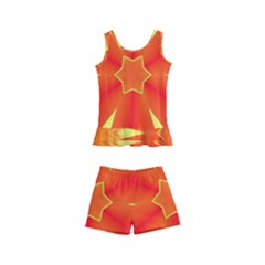 Digital Art Art Artwork Abstract Kids  Boyleg Swimsuit