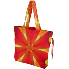 Digital Art Art Artwork Abstract Drawstring Tote Bag