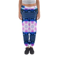 Abstract Fractal Pattern Colorful Women s Jogger Sweatpants