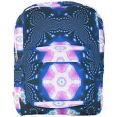 Abstract Fractal Pattern Colorful Full Print Backpack