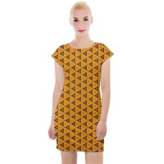 Digital Art Art Artwork Abstract Cap Sleeve Bodycon Dress