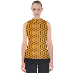 Digital Art Art Artwork Abstract Mock Neck Shell Top