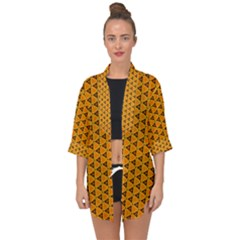 Digital Art Art Artwork Abstract Open Front Chiffon Kimono