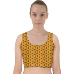 Digital Art Art Artwork Abstract Velvet Racer Back Crop Top