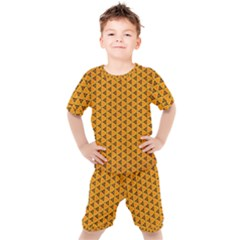 Digital Art Art Artwork Abstract Kids  Tee And Shorts Set