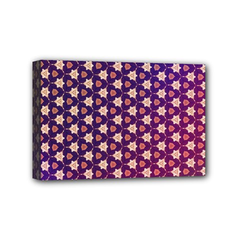 Texture Background Pattern Mini Canvas 6  X 4  (stretched)