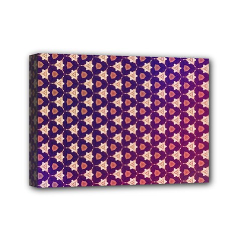 Texture Background Pattern Mini Canvas 7  X 5  (stretched)