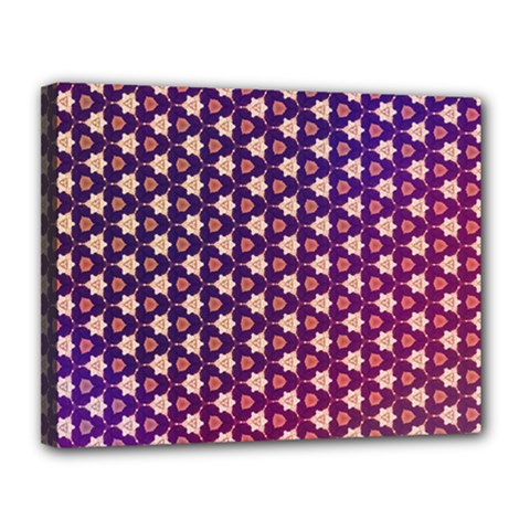 Texture Background Pattern Canvas 14  X 11  (stretched)