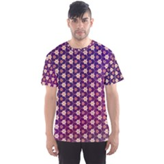 Texture Background Pattern Men s Sports Mesh Tee