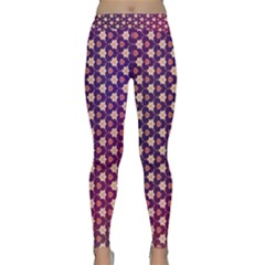 Texture Background Pattern Classic Yoga Leggings