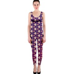 Texture Background Pattern One Piece Catsuit