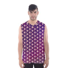 Texture Background Pattern Men s Basketball Tank Top