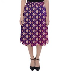 Texture Background Pattern Classic Midi Skirt