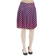 Texture Background Pattern Pleated Skirt
