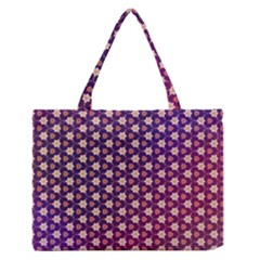 Texture Background Pattern Zipper Medium Tote Bag