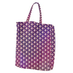 Texture Background Pattern Giant Grocery Tote