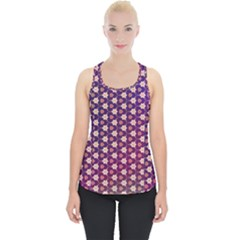 Texture Background Pattern Piece Up Tank Top